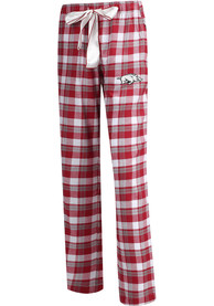 Arkansas Razorbacks Womens Piedmont Sleep Pants - Crimson