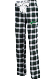 North Texas Mean Green Womens Piedmont Green Sleep Pants