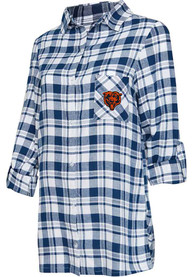 Chicago Bears Womens Piedmont Sleep Shirt - Navy Blue