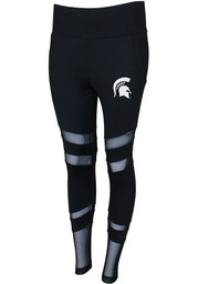 Michigan State Spartans Womens Black Interval Pants