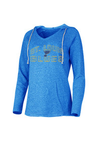 St Louis Blues Womens Blue Mainstream Hoodie