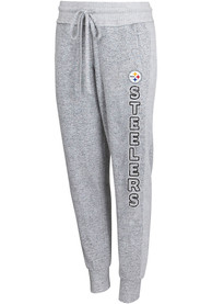 Pittsburgh Steelers Womens Venture Sleep Pants - Grey