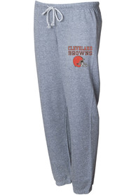 Cleveland Browns Womens Mainstream Sweatpants - Grey