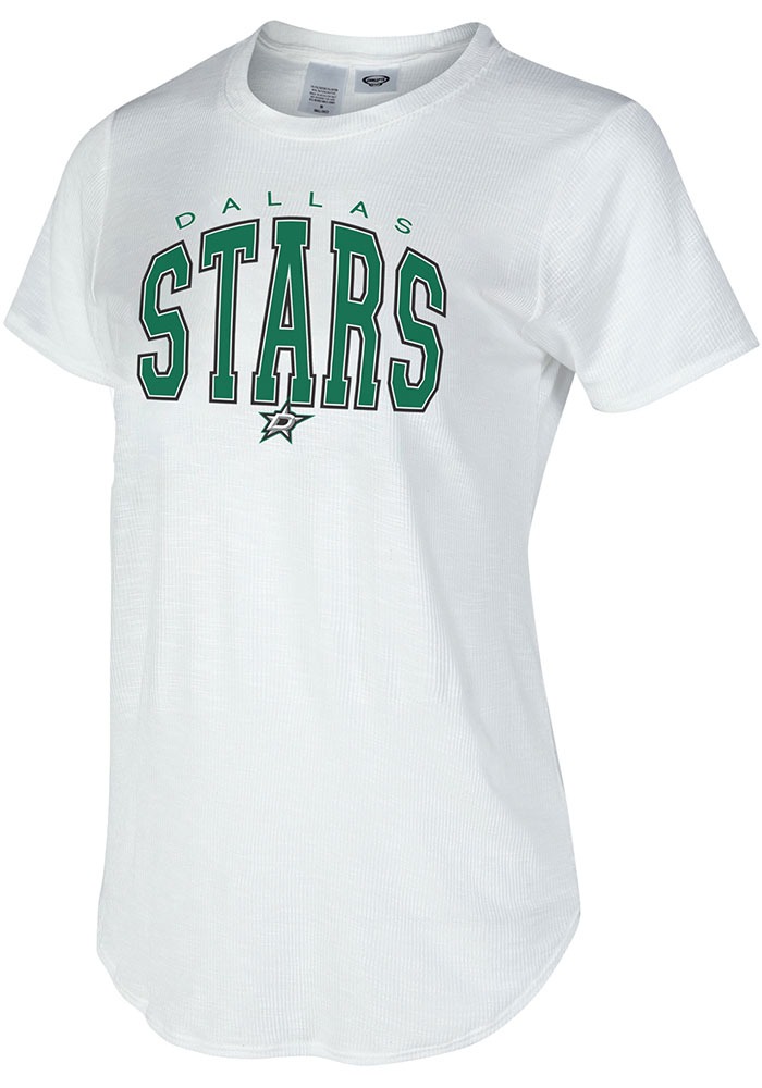 Dallas Stars Womens Gable T-Shirt - White