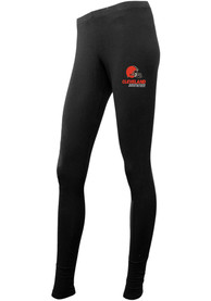 Cleveland Browns Womens Fraction Pants - Black
