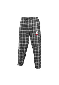 Cincinnati Bearcats Plaid Flannel Flannel Sleep Pants - Charcoal