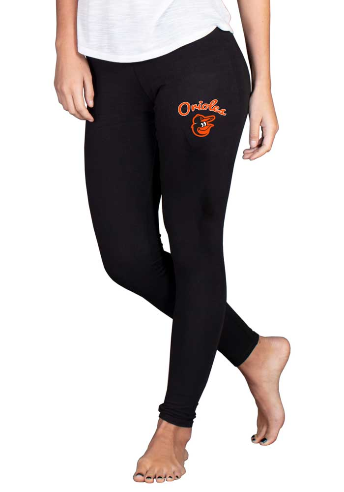 Baltimore Orioles Womens Black Fraction Pants - Image 1