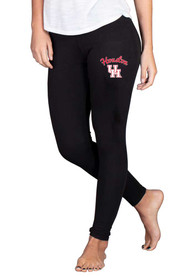 Houston Cougars Womens Fraction Pants - Black