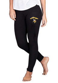 Minnesota Vikings Womens Fraction Pants - Black