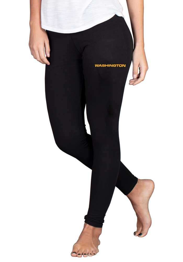 Washington Football Team Womens Fraction Pants - Black