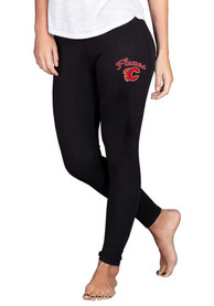 Calgary Flames Womens Fraction Pants - Black