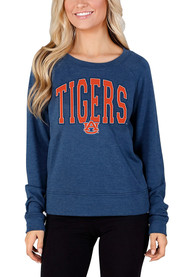 Auburn Tigers Womens Mainstream Crew Sweatshirt - Navy Blue