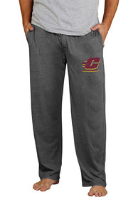 Central Michigan Chippewas Quest Sleep Pants - Grey