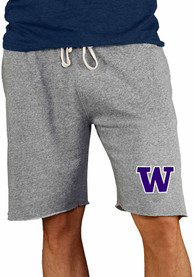 Washington Huskies Mainstream Shorts - Grey