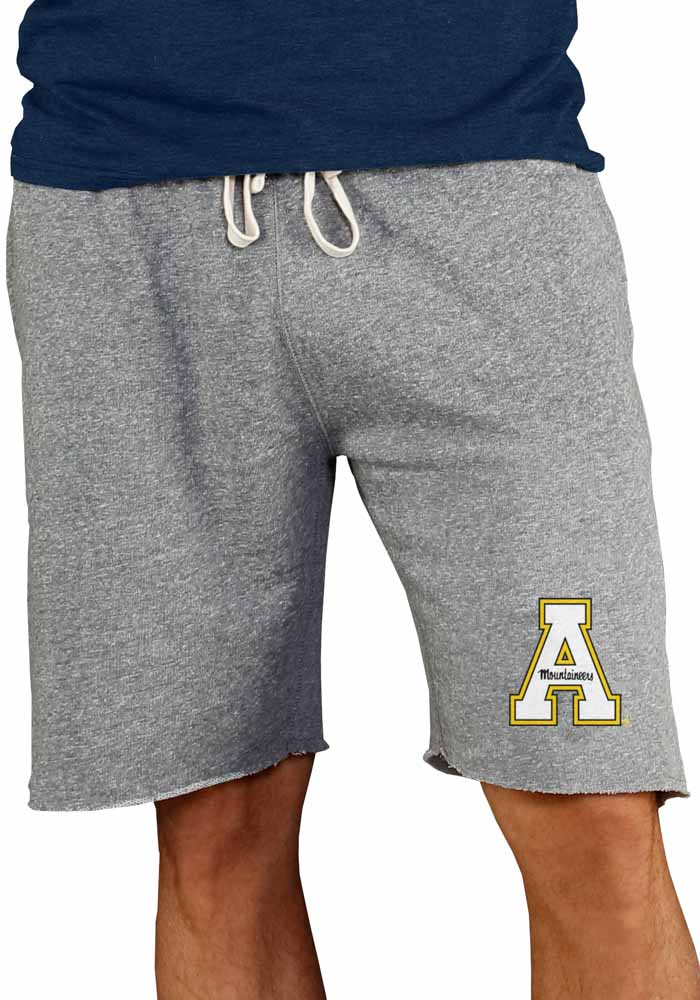 Appalachian State Mountaineers Mens Grey Mainstream Shorts - Image 1