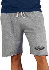 New Orleans Pelicans Mainstream Shorts - Grey
