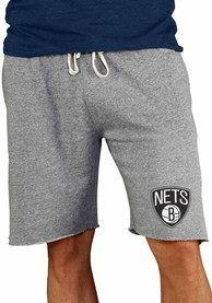 Brooklyn Nets Mainstream Shorts - Grey