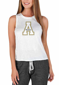 Appalachian State Mountaineers Womens Gable Tank Top - White