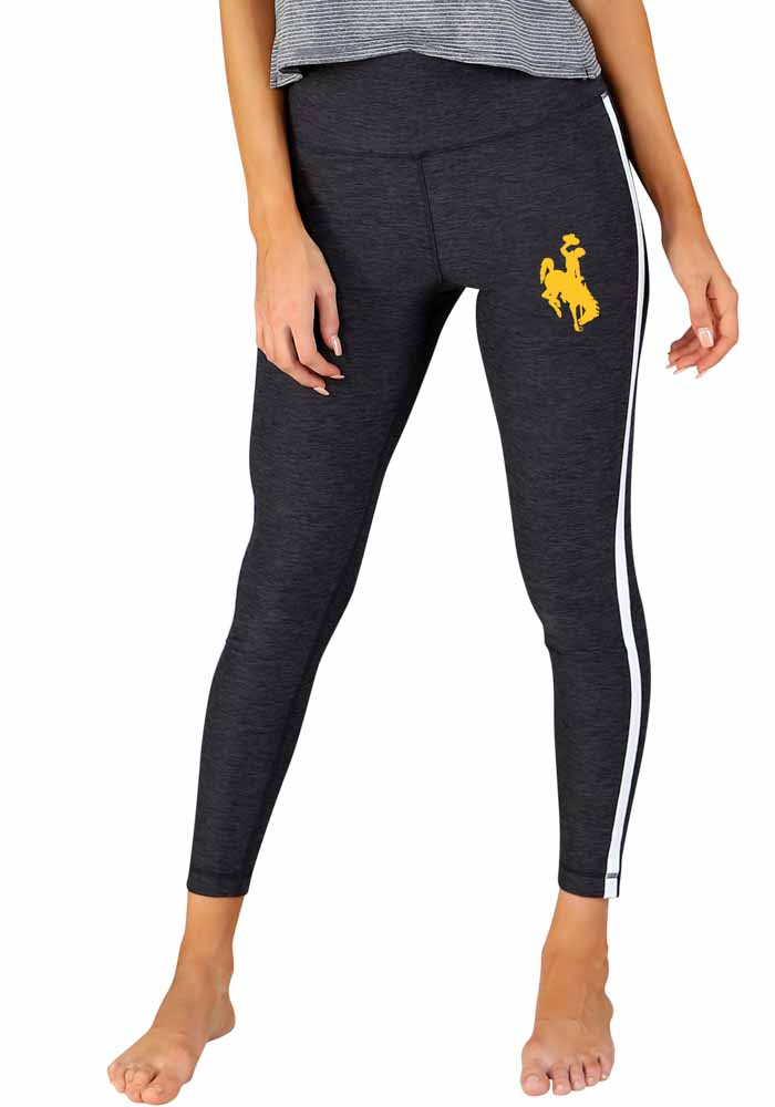 Wyoming Cowboys Womens Charcoal Centerline Pants - Image 1