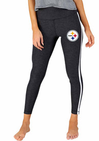 Pittsburgh Steelers Womens Centerline Pants - Charcoal