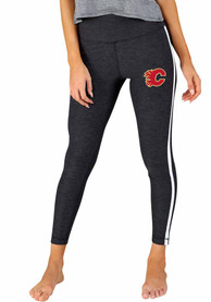 Calgary Flames Womens Centerline Pants - Charcoal