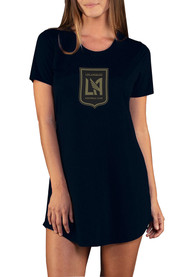 Los Angeles FC Womens Marathon Sleep Shirt - Black