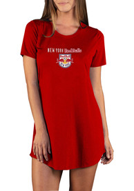 New York Red Bulls Womens Marathon Sleep Shirt - Red