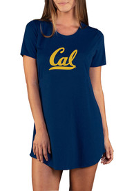 Cal Golden Bears Womens Marathon Sleep Shirt - Navy Blue