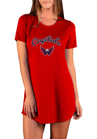 Washington Capitals Womens Marathon Sleep Shirt - Red