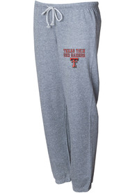 Texas Tech Red Raiders Womens Mainstream Sweatpants - Grey