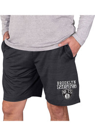 Brooklyn Nets Bullseye Shorts - Charcoal