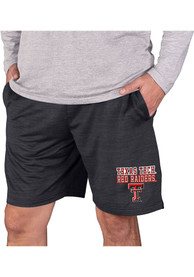 Texas Tech Red Raiders Bullseye Shorts - Charcoal