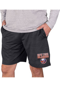 New York Islanders Bullseye Shorts - Charcoal