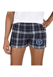 New York City FC Womens Grey Ultimate Flannel Shorts