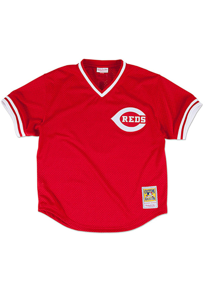 Johnny Bench Cincinnati Reds Mens Cooperstown Jersey - Red - Image 2