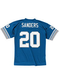 Barry Sanders Detroit Lions Mitchell and Ness 1996 Football Jersey - Blue