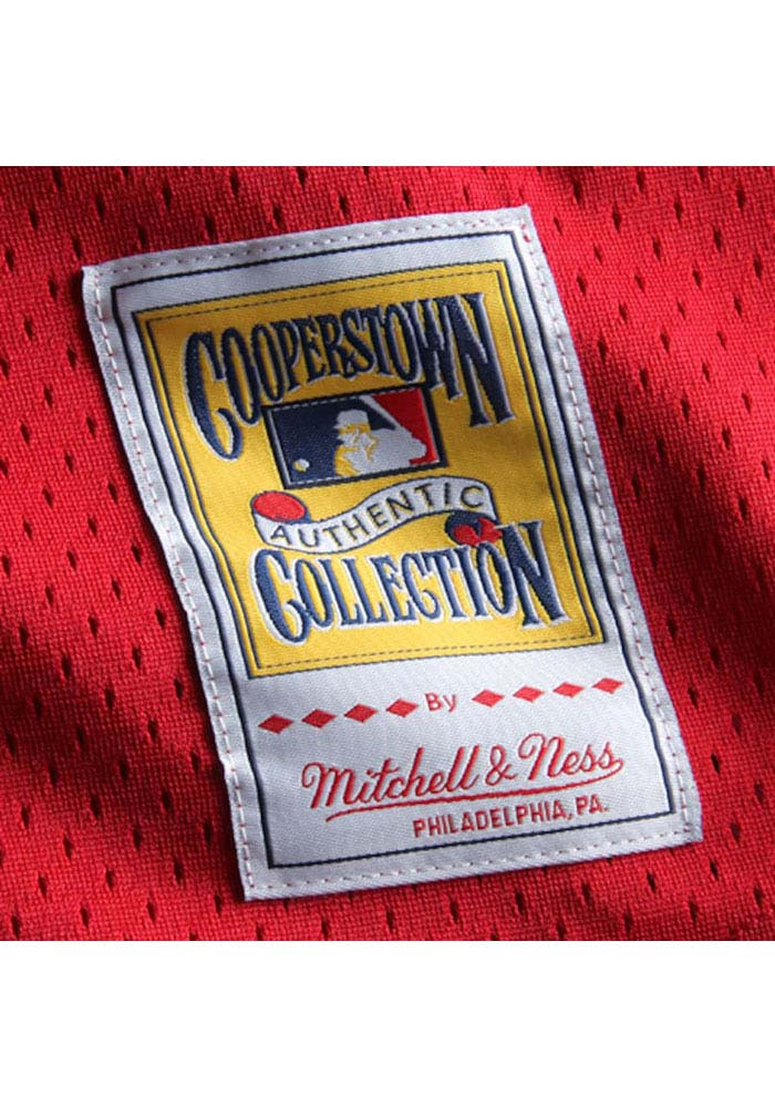 Ozzie Smith St Louis Cardinals Mens Cooperstown Jersey - Red - Image 3