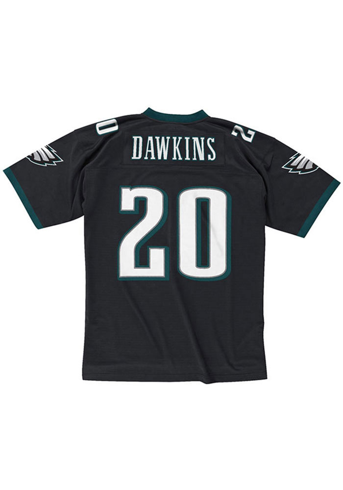 Brian Dawkins Philadelphia Eagles Mens black Replica Jersey 650121cb2
