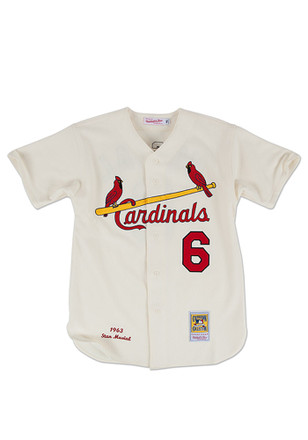 Stan Musial St Louis Cardinals Mens Cooperstown Jersey