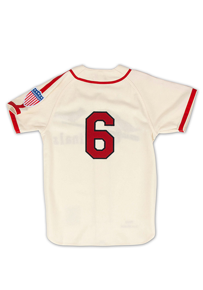 Stan Musial St Louis Cardinals Mens Cooperstown Jersey - White - Image 2