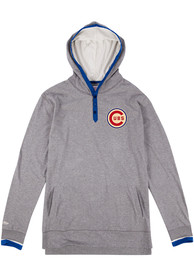 Mitchell and Ness Chicago Cubs Grey Seal The Win Fashion Tee
