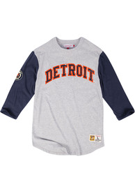 Mitchell and Ness Detroit Tigers Grey Scoring Position Fashion Tee