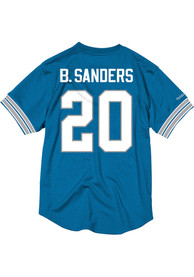 Barry Sanders Detroit Lions Mitchell and Ness 1993 Football Jersey - Light Blue