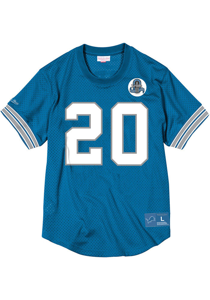 Detroit Lions Barry Sanders Mitchell and Ness 1993 Throwback Jersey - 5650032