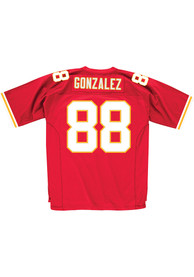 Mitchell and Ness Kansas City Chiefs Tony Gonzalez 2004 Throwback Jersey - Red