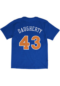 Brad Daugherty Cleveland Cavaliers Mitchell and Ness Name And Number T-Shirt - Blue