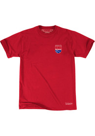 Mitchell and Ness Kansas City Kings Red Traditional Fashion Tee