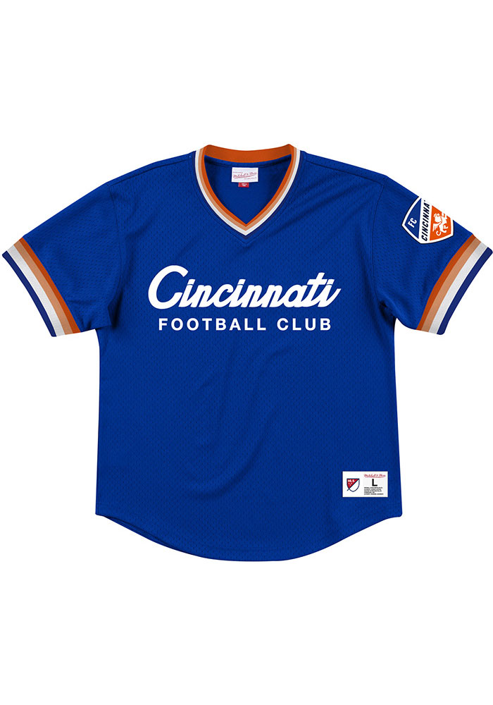 Mitchell and Ness FC Cincinnati Blue Special Script Fashion Tee