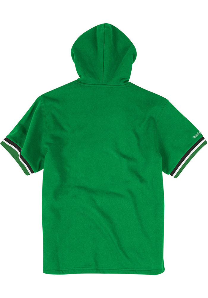 Mitchell and Ness Philadelphia Eagles Mens Kelly Green French Terry Fashion Hood - Image 2