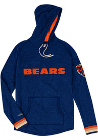 Mitchell and Ness Chicago Bears Lightweight Navy Blue Fashion Hood